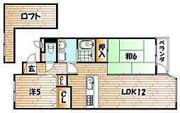 富士ヶ丘[3階]の間取り