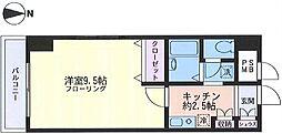 第二川崎スパマンション(広々洋室、オススメ)[1102(最上階)号室]の間取り