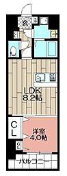 エンクレスト吉塚駅前II(904)[904号室]の間取り