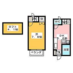 Ceres鳴海本町[1階]の間取り