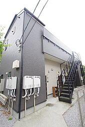 神奈川県川崎市多摩区寺尾台1丁目の賃貸アパートの外観