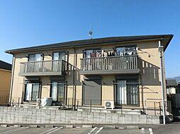 滋賀県大津市雄琴3丁目の賃貸アパートの外観