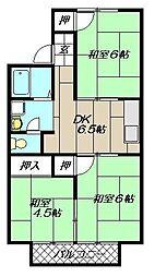 L橘[103号室]の間取り