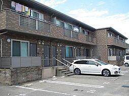 福岡県福岡市東区香椎3丁目の賃貸アパートの外観