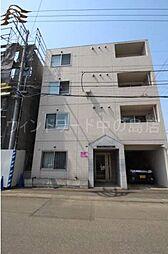 北海道札幌市豊平区平岸四条1丁目の賃貸マンションの外観