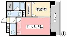 ツイン・ハーモニー道後II[402号室]の間取り