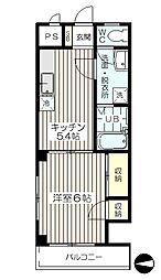 CRCアーバンステージ[2階]の間取り