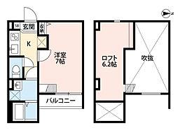 ノア瓜生堂(tateru)[1階]の間取り