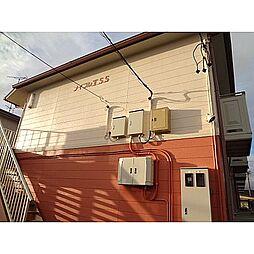 静岡県浜松市中区城北2丁目の賃貸アパートの外観