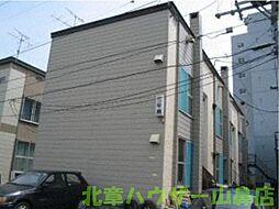 睦和ハイツ3号館[1階]の外観