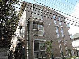 ソレイユ八尾[2階]の外観