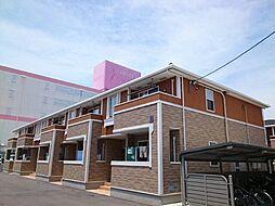 香川県綾歌郡宇多津町浜三番丁の賃貸アパートの外観