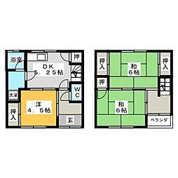 田中アパート[1階]の間取り