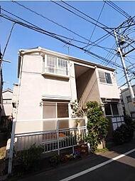 東京都目黒区八雲1丁目の賃貸アパートの外観