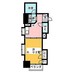 静岡常磐町エンブルコート[4階]の間取り