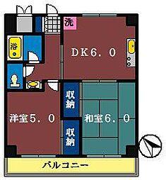 ピュアタウン北本町[310号室]の間取り