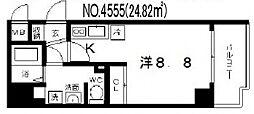 ララプレイス四天王寺夕陽ヶ丘[8階]の間取り