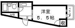ハイムリップルパートIII[209号室号室]の間取り
