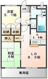 First.Villa[1階]の間取り