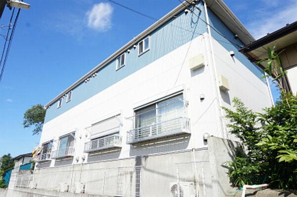 千葉県千葉市花見川区幕張町3丁目の賃貸アパートの外観
