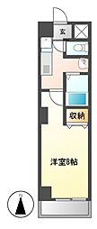 YMC葵[3階]の間取り