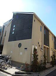 東京都墨田区立花2丁目の賃貸アパートの外観