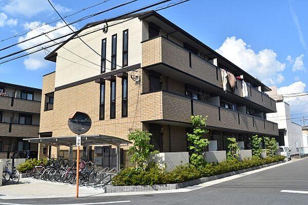 京都府京都市伏見区中島外山町の賃貸アパート