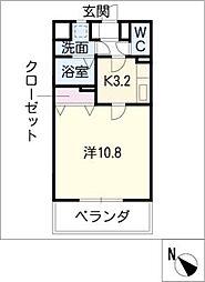 セントラルアベニュー[5階]の間取り