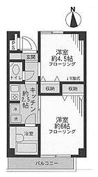 FNマンション[2階]の間取り