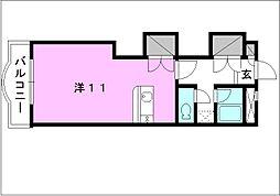 メゾン・ドゥ・シュー[408 号室号室]の間取り