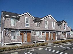 徳島県板野郡藍住町乙瀬字乾の賃貸アパートの外観