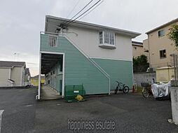 東京都町田市能ヶ谷7丁目の賃貸アパートの外観