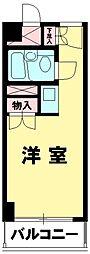 東京都新宿区歌舞伎町2丁目の賃貸マンションの間取り