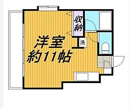 ジュネパレス新松戸第35[1階]の間取り
