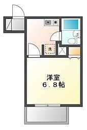 ライオンズマンション新栄第2[4階]の間取り