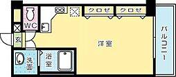 寿山ビル[210号室]の間取り