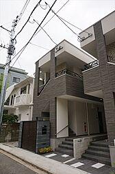 福岡県福岡市中央区六本松3丁目の賃貸アパートの外観