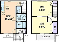 gracia Asahi[103号室]の間取り