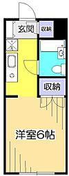 リーベ21[2階]の間取り