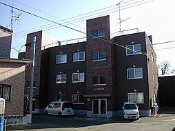 北海道札幌市南区真駒内本町7丁目の賃貸アパートの外観