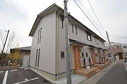 兵庫県宝塚市口谷西2丁目の賃貸アパートの外観