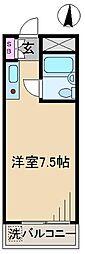 駒込K&M[4階]の間取り