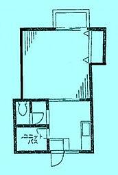 エクシードI[1階]の間取り