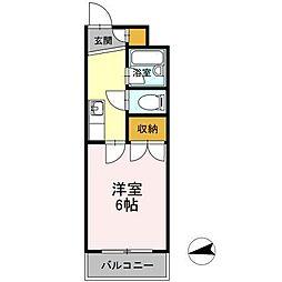 平成第2ビル[3階]の間取り