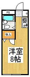 リトルトンコート[1階]の間取り