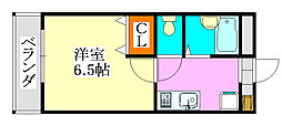 リアル・ジョイ実籾壱番館[106号室]の間取り