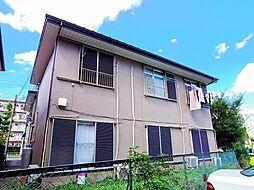 東京都清瀬市旭が丘2丁目の賃貸アパートの外観