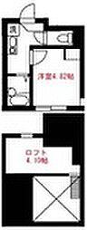 Elua西横浜B棟[204号室]の間取り