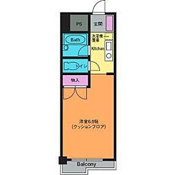 シャルマンコート[1階]の間取り