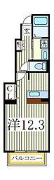ソレアードII[1階]の間取り